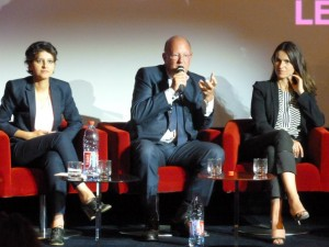 Hier, Lundi 8 juillet à France Télévision étaient réunis rémy Pflimlin, Najat Vallaud-Belkacem et Aurélie Filippetti