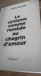 livre cynisme amour bardolle