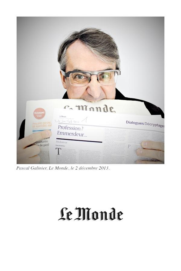 """""""QUI EST VRAIMENT CHARLIE ?"""" : PASCAL GALINIER, JOURNALISTE AU MONDE REPOND !"""