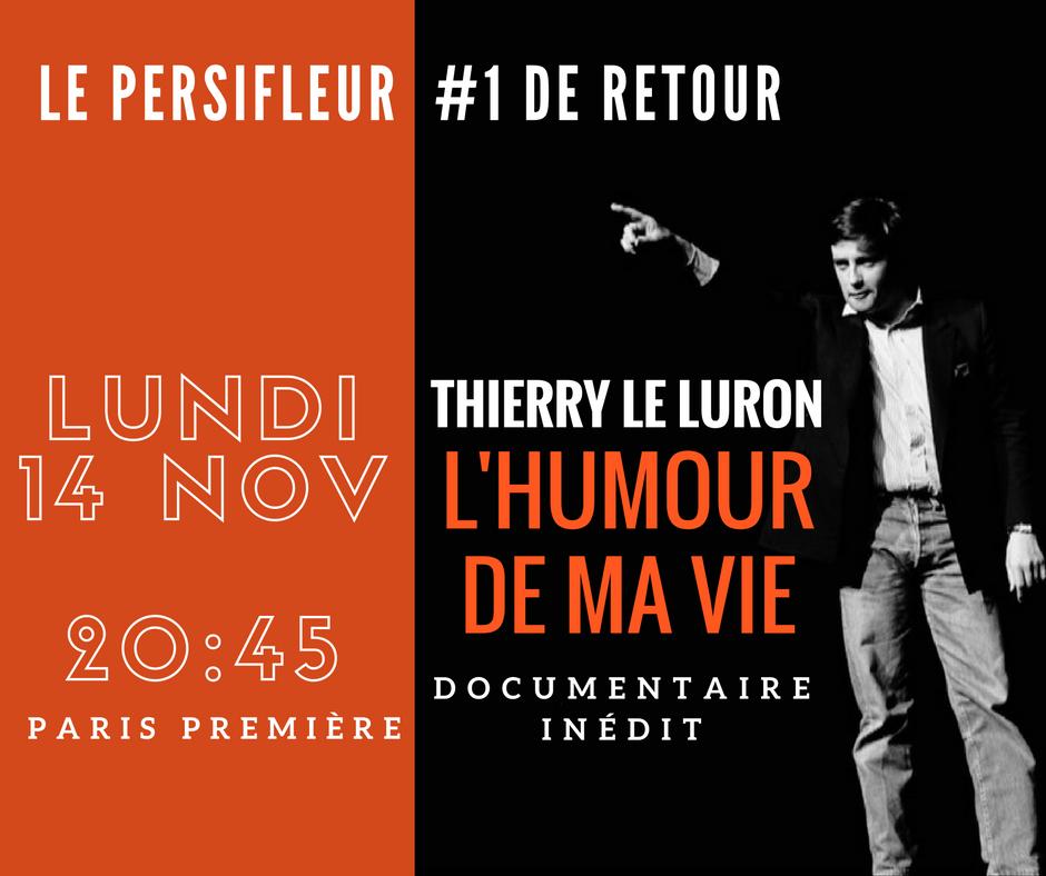 THIERRY LE LURON OU L'HISTOIRE D'UN ANARCHISTE SUR PARIS PREMIERE