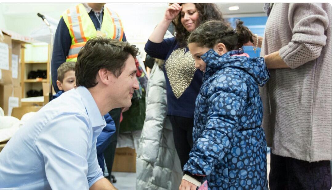 JUSTIN TRUDEAU OFFRE UN NOUVEL ELDORADO : LE CANADA ! JUSTIN TRUDEAU VU PAR PAULINE ESCANDE-GAUQUIE