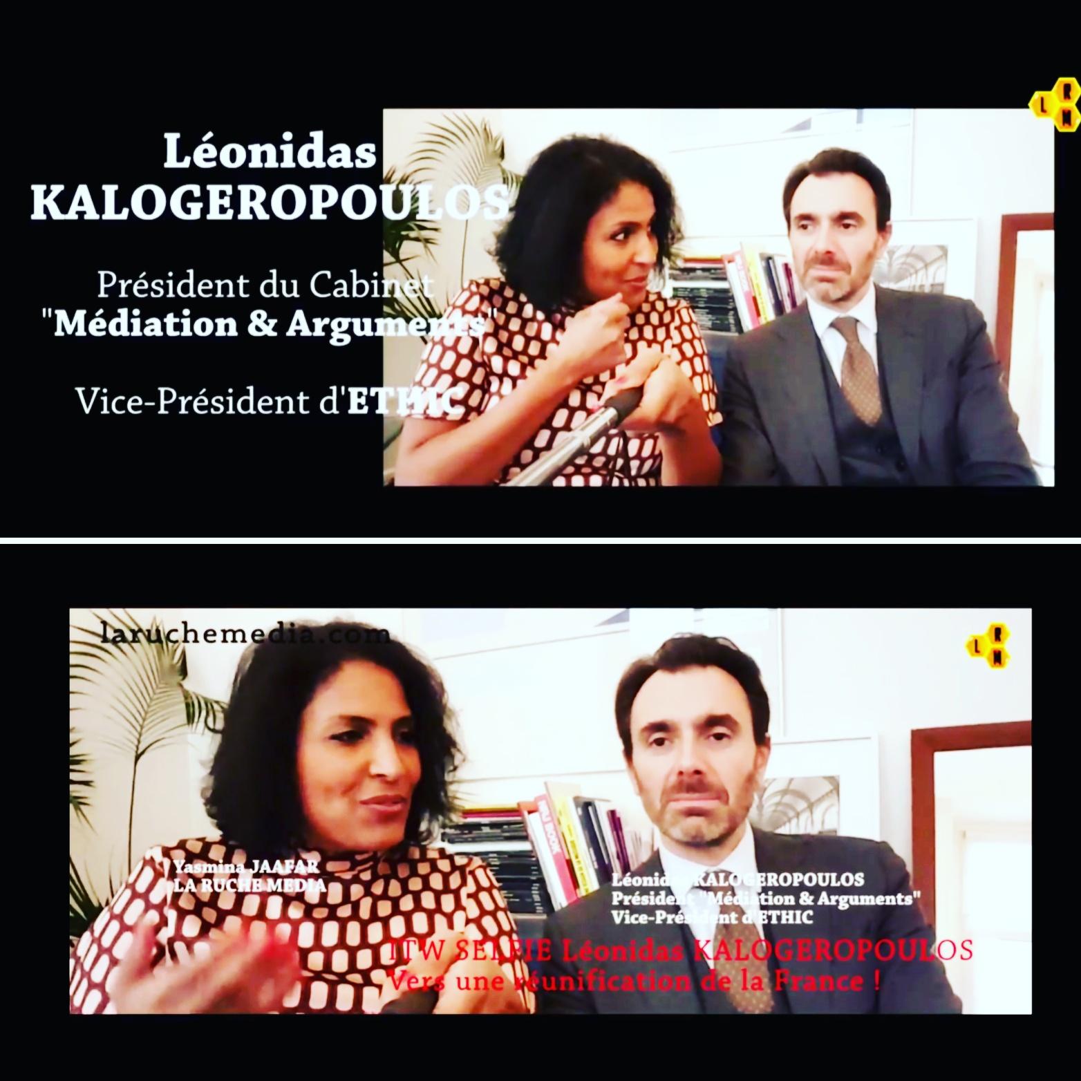 LÉONIDAS KALOGEROPOULOS OU L'ACTION D'ENTREPRENDRE EN FRANCE