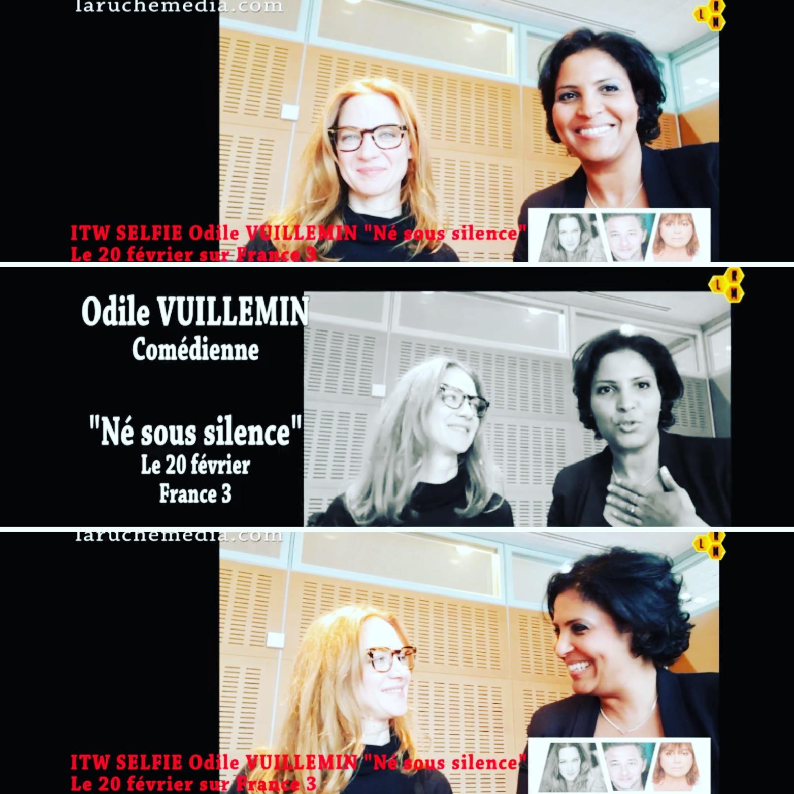 ODILE VUILLEMIN, L'ENTRETIEN : NE SOUS SILENCE DEMAIN SUR FRANCE 3